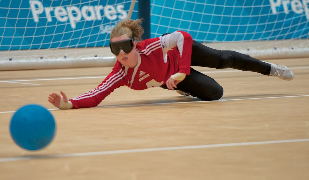Goalball, Paralympic test event