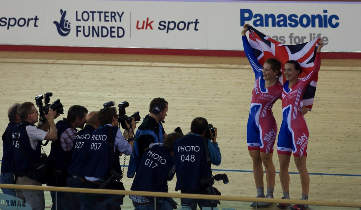 Pendleton & Varnish after winning gold