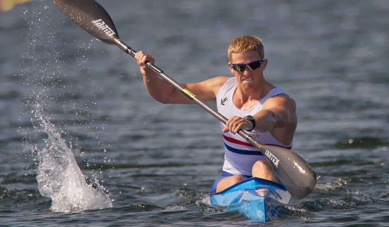 Paul Wycherley  at Eton Dorney