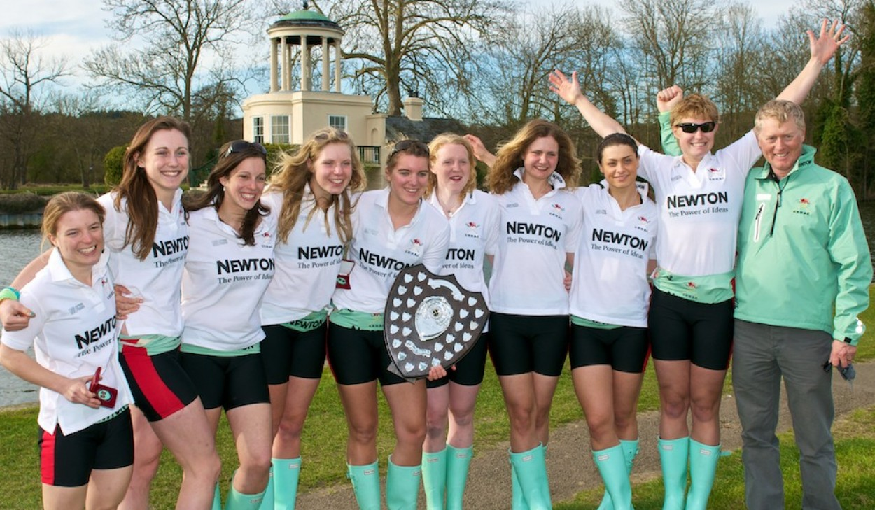 Cambridge Win the Women's Boat Race 2012