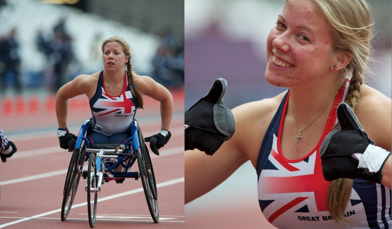 MBE in New Years Honours for Hannah Cockcroft