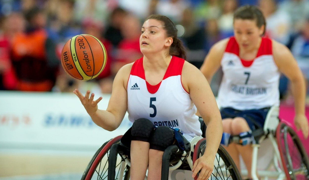 GBR Women's wheelchair basketball