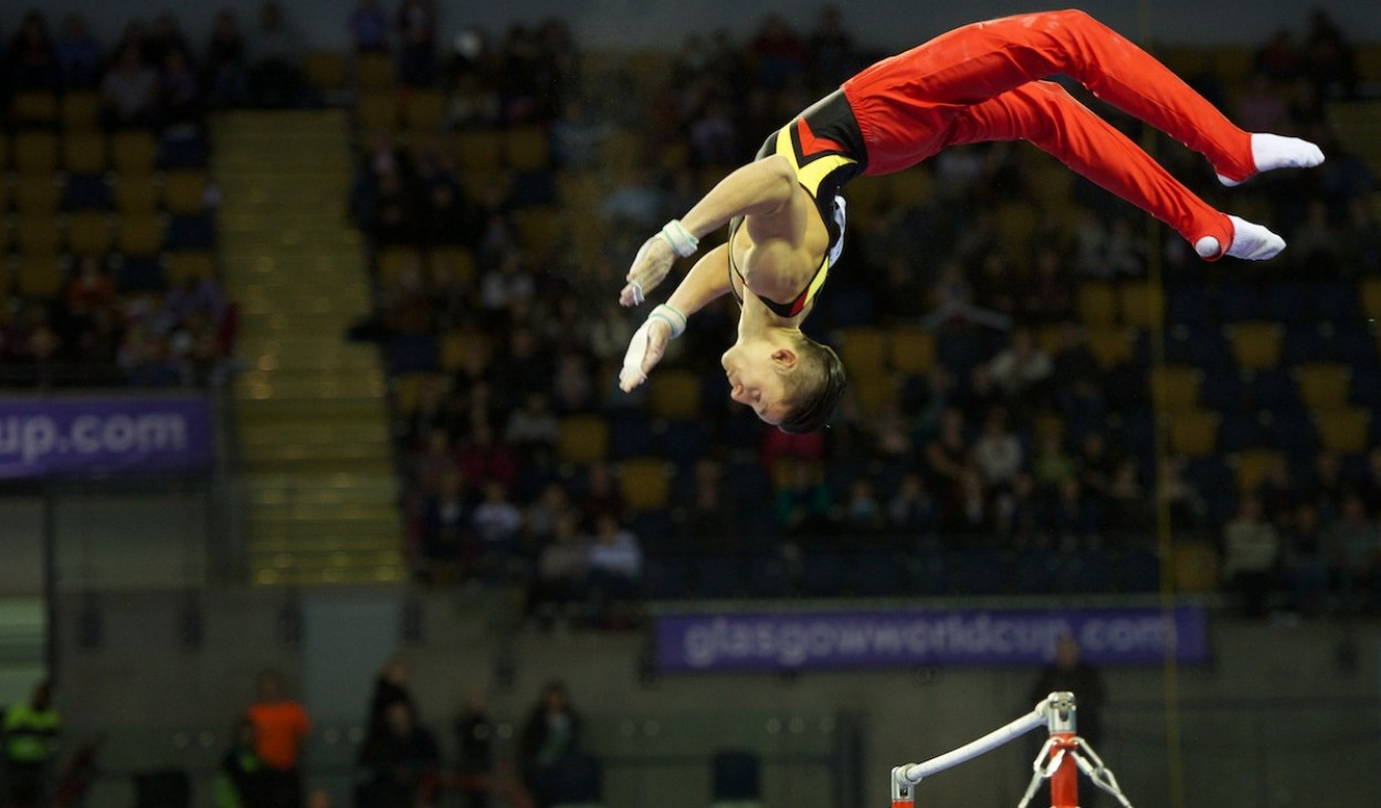 Glasgow's 2012 Gymnastics World Cup