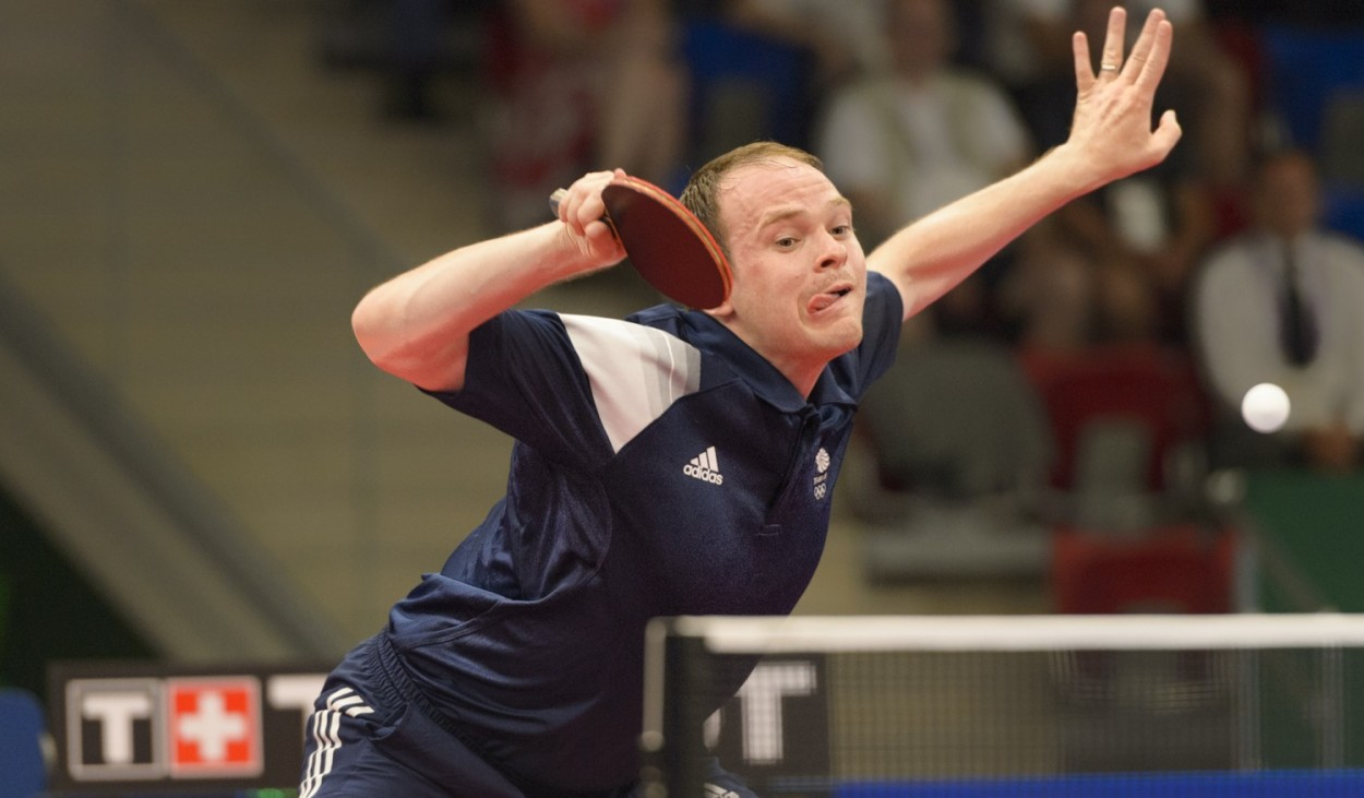 GB's Paul Drinkhall, 2015 Baku Games