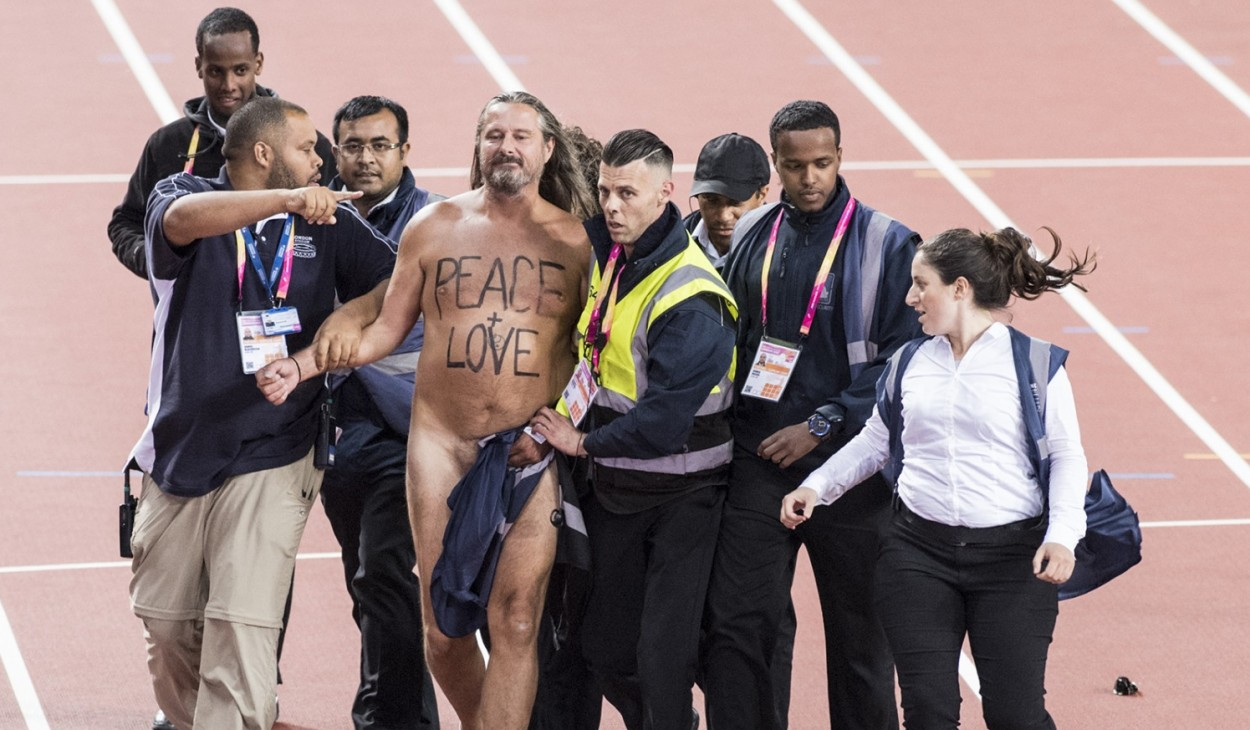 Peace & Love at the 2017 IAAF Worlds